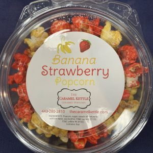 Banana Strawberry Popcorn