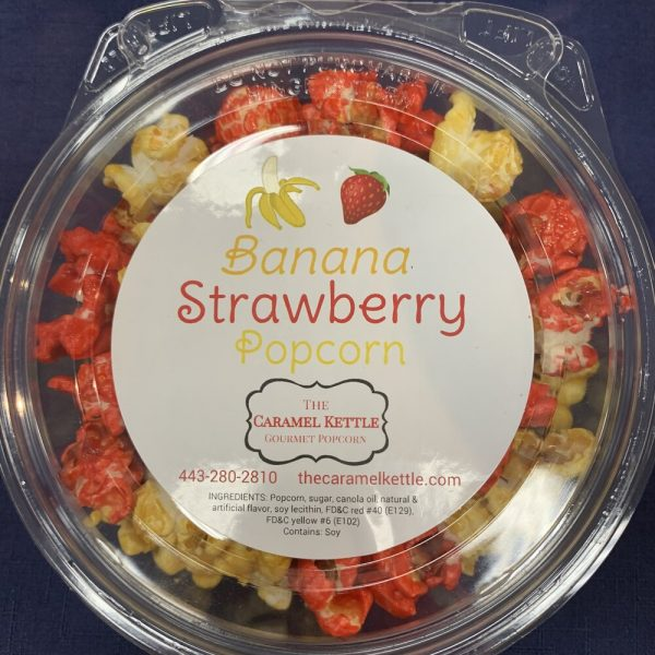 Banana Strawberry Popcorn
