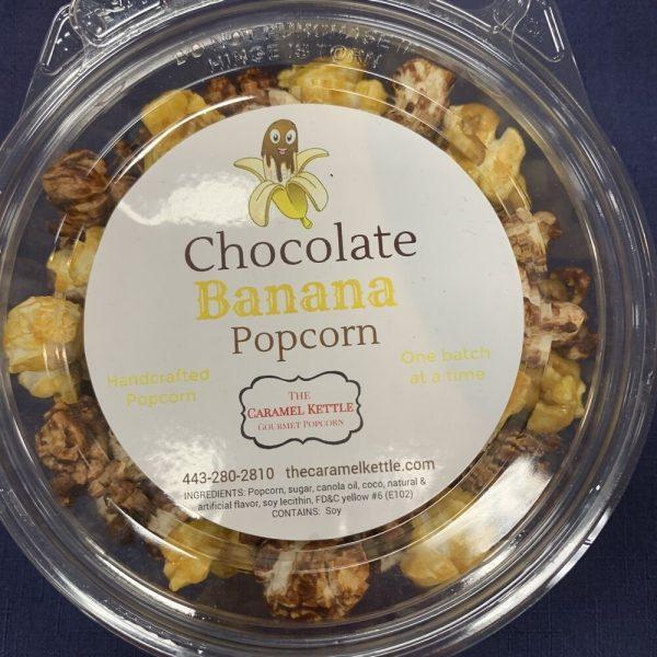 Chocolate Banana Popcorn