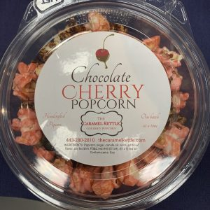 Chocolate Cherry Popcorn