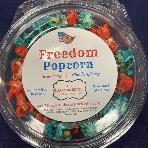 Freedom Popcorn / Strawberry & Blue Raspberry