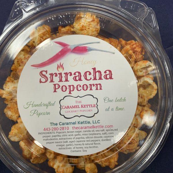 Honey Siracha Popcorn
